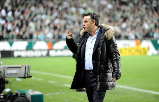 Christophe Galtier, coach de l'ASSE