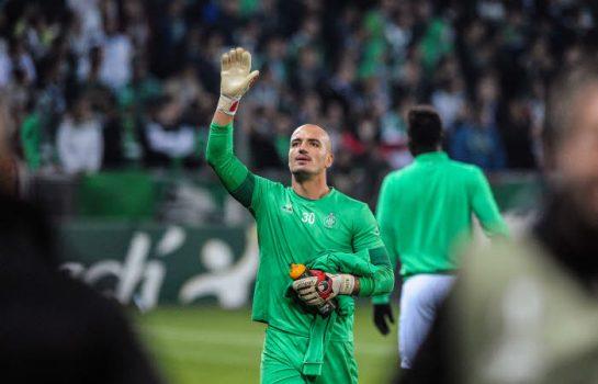 Jessy Moulin retrouve sa place de titulaire en l'absence de Stéphane Ruffier, blessé