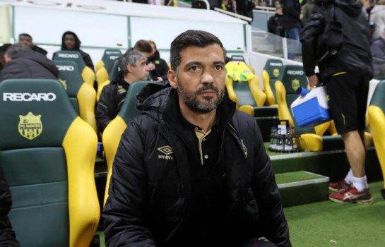 Sergio Conceiçao , coach du FC Nantes attend des renforts ce hiver