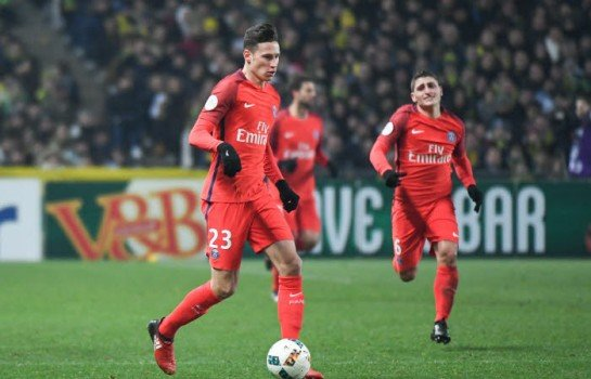 Julian Draxler, milieu offensif du PSG