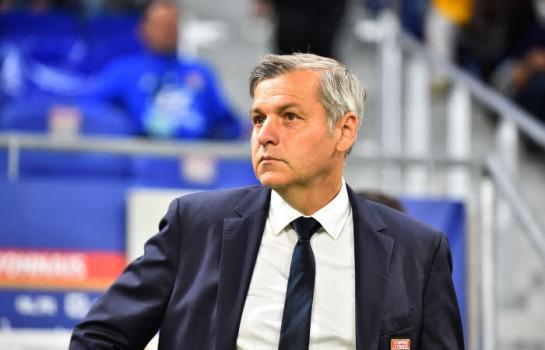 Bruno Genesio, l'entraineur lyonnais.