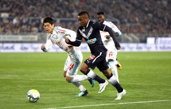 François Kamano, attaquant au FC Girondins de Bordeaux.