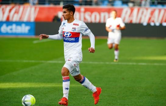Houssem Aouar ne va pas au Barça, selon Aulas