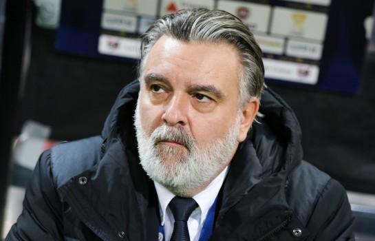 Laurent Nicollin a évoqué l'avenir du coach de l' ASSE avec ce dernier.