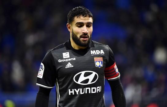 Nabil Fekir, attaquant de l'OL.