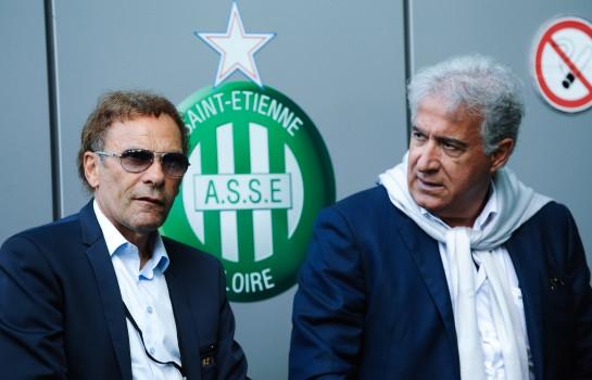 Bernard Caïazzo et Roland Romeyer, les deux présidents de l' ASSE.