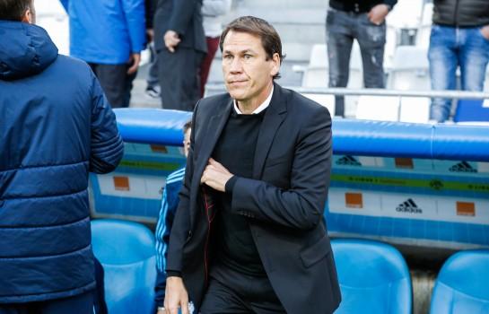 Rudi Garcia et l'OM jouent ce dimanche soir face à Toulouse FC.