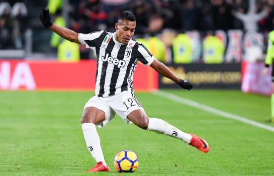 Alex Sandro, latéral gauche brésilien de la Juventus Turin.