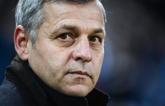 Bruno Genesio, coach de l' OL.