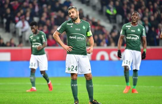 Loïc Perrin et l'ASSE se sont inclinés cet après-midi devant l'OGC Nice (1-0).