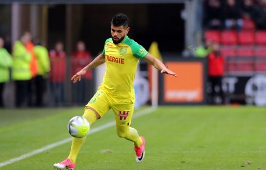 Lucas Lima, défenseur latéral du FC Nantes.