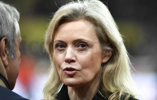 Nathalie Boy de la Tour, présidente de la Ligue de Football Professionnel.
