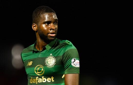Odsonne Édouard, attaquant du PSG prêté au Celtic Glasgow.