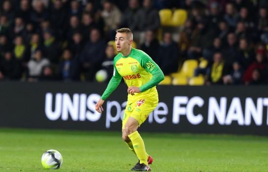 Valentin Rongier, milieu de terrain polyvalent du FC Nantes