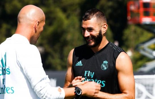 Zidane reste confiant pour Karim Benzema.