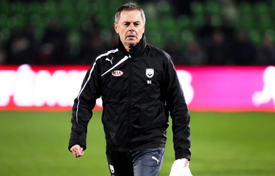 Éric Bedouet, entraîneur des Girondins de Bordeaux.