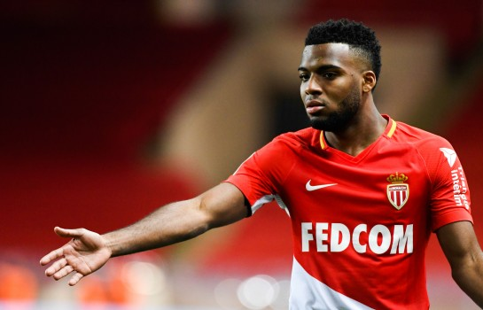 Thomas Lemar, milieu offensif de l'AS Monaco quasiment transféré à l'atletico Madrid.