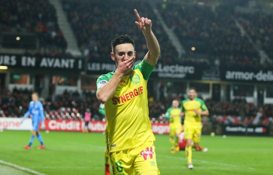 Adrien Thomasson, milieu offensif du FC Nantes