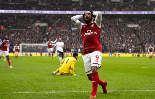 Alexandre Lacazette, l'attaquant d'Arsenal