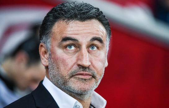 Christophe Galtier, entraîneur de Lille OSC.