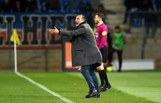 Michel Der Zakarian, coach de Montpellier HSC.