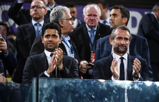 Jean-Claude Blanc et le PSG devant l'UEFA le 22 mars.