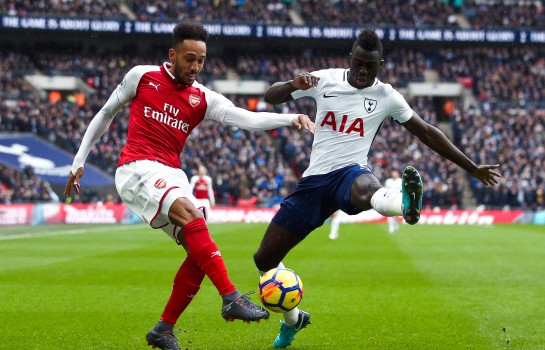 Pierre-Emerick Aubameyang, attaquant d'Arsenal