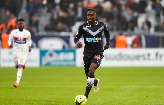 Soualiho Meïté, milieu défensif de l'AS Monaco prêté à Bordeaux