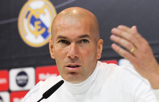 Zinedine Zidane, nouvel entraineur du Real Madrid.