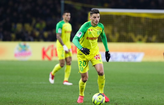 Djidji à la place de Pallois suspendu, contre Troyes — FC Nantes