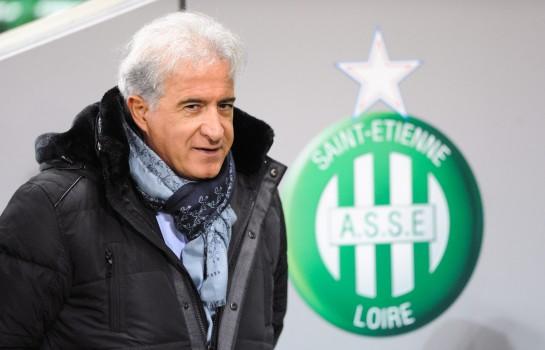 Bernard Caïazzo, président du Conseil de surveillance de l' ASSE favorable à la promotion de Ghislain Printant.