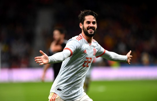 Isco Alarcon, attaquant du Real Madrid.