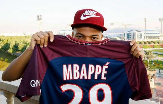 Kylian Mbappé, attaquant du PSG.