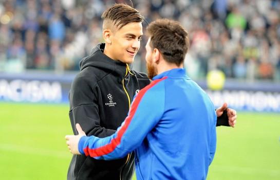 Pour Allegri, Dybala progresserait au Barça.