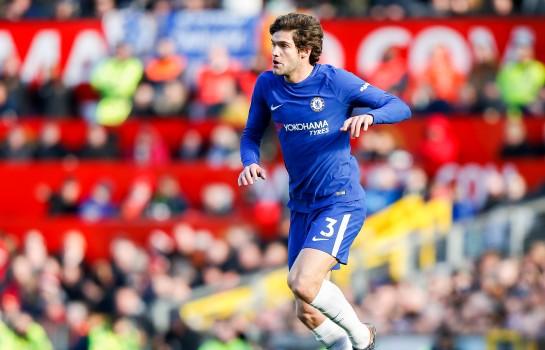 Marcos Alonso, défenseur latéral gauche de Chelsea.