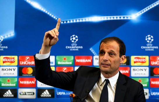 Massimiliano Allegri, coach de la Juventus.