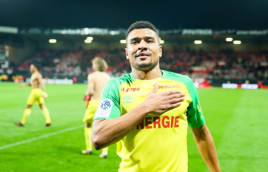 Santy Ngom, attaquant du FC Nantes