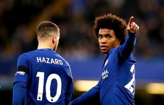 Willian veut voir Eden Hazard rester à Chelsea.