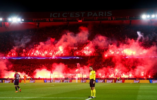 Le PSG écope d'un match à huis clos pour la partie basse d'Auteuil.