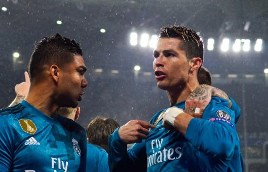 Cristiano Ronaldo lors du match Juve - Real (0-3)