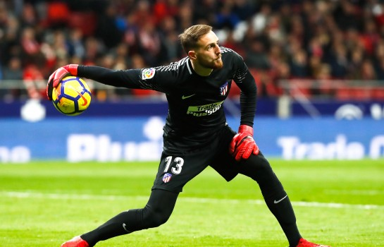 Jan Oblak lors d'un match de l'Atletico Madrid