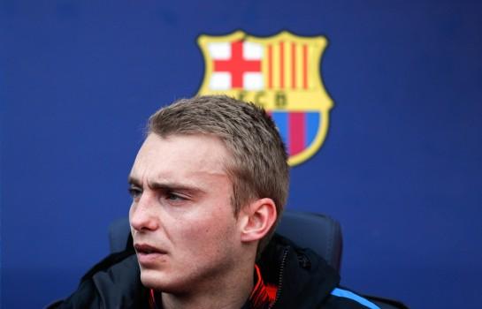 Jasper Cillessen sur le banc du FC Barcelone.