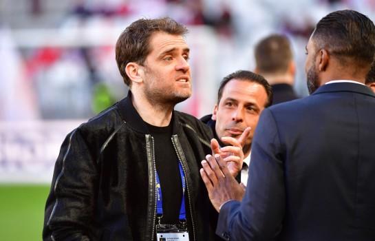 Jérôme Rothen, ancien milieu de terrain du PSG.
