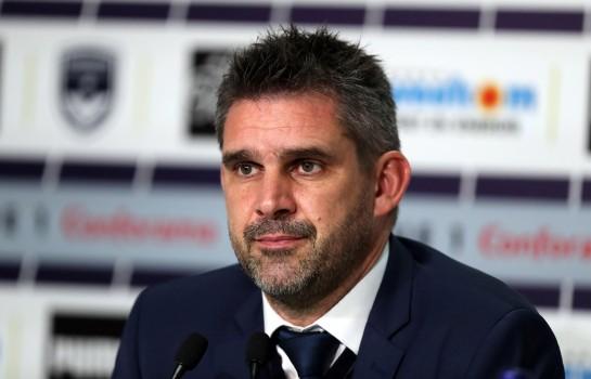 Jocelyn Gourvennec, entraîneur de l'EA Guingamp.