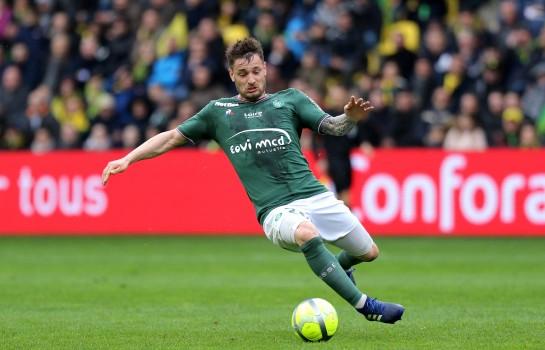 Mathieu Debuchy, latéral droit de l'ASSE.