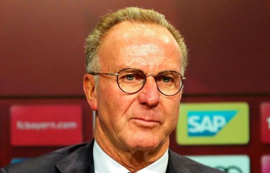 Karl-Heinz Rummenigge, président du directoire du Bayern Munich.