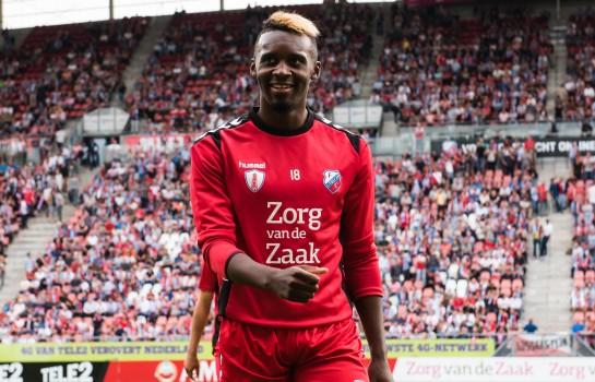 Jean-Christophe Bahebeck est désormais un joueur d'Utrecht.