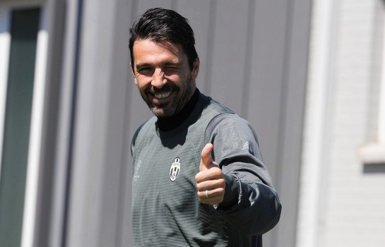Gianluigi Buffon, ancien gardien de but de la Juventus Turin.