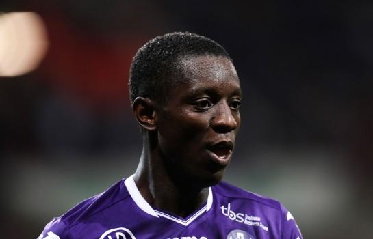 Max-Alain Gradel, ailier de Bournemouth prêté a Toulouse la saison dernière.