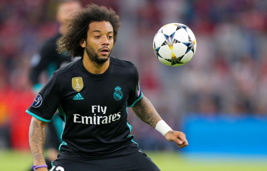 Marcelo sous le maillot du Real Madrid